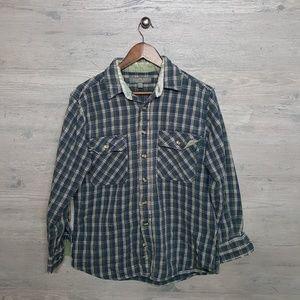 Vintage Flannel Shirt. AMAZING! Super Soft & Heavy